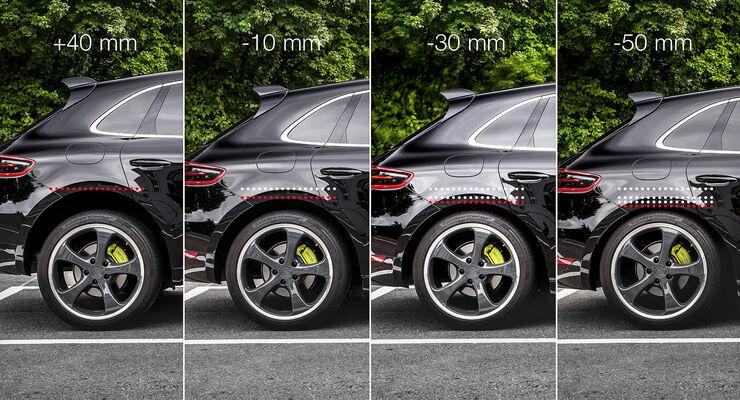 Techart Porsche Macan Tieferlegung