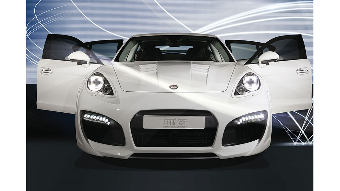 Techart Porsche Panamera GrandGT Front