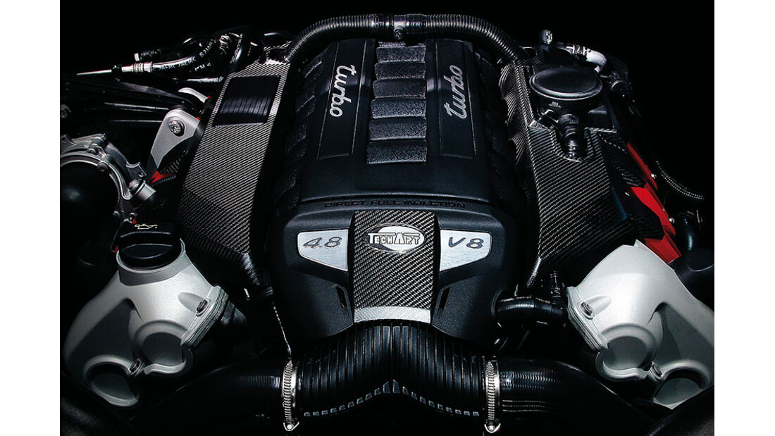 Techart Porsche Panamera GrandGT Motorraum