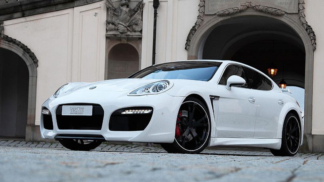Techart Porsche Panamera GrandGT schräg von vorne