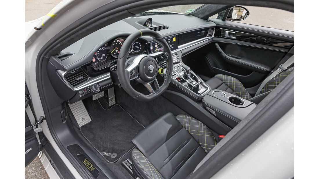 Techart-Porsche Panamera Turbo S, Interieur