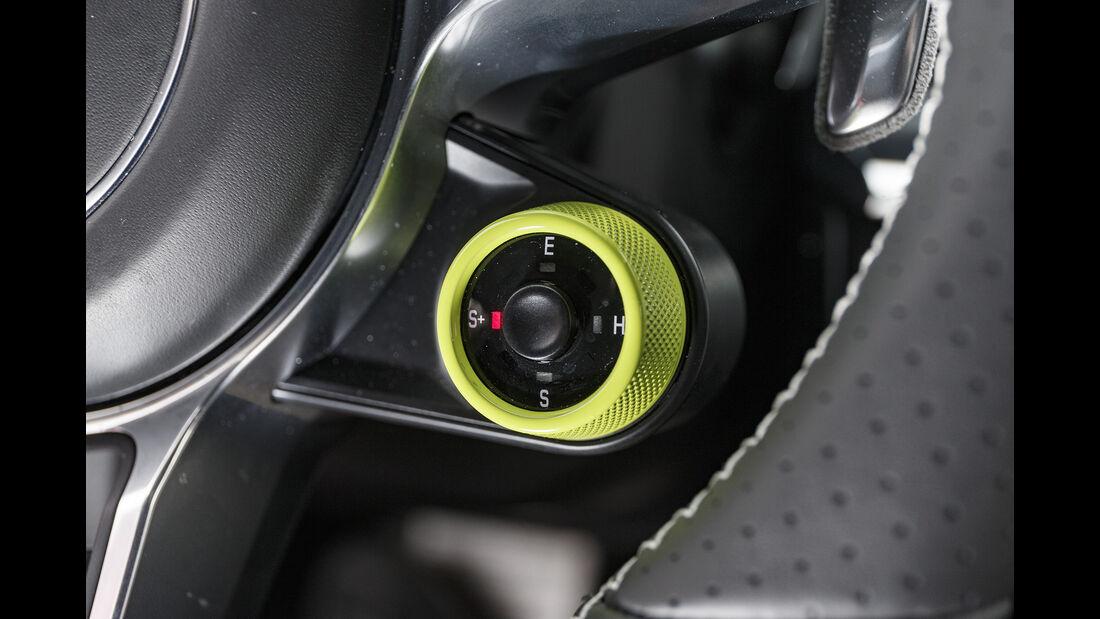 Techart-Porsche Panamera Turbo S, Lenkrad