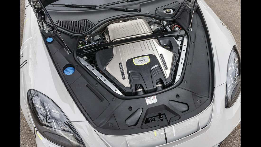 Techart-Porsche Panamera Turbo S, Motor