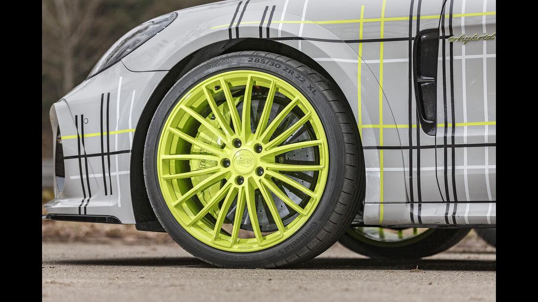 Techart-Porsche Panamera Turbo S, Rad