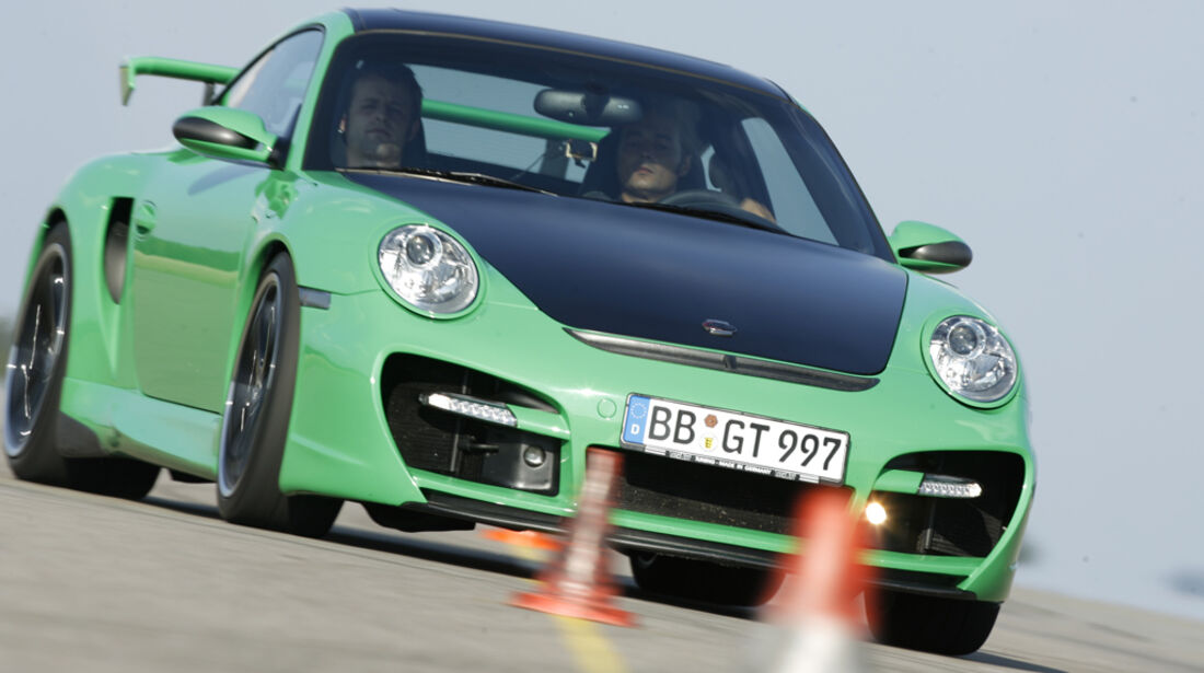 Techart Porsche Turbo 09