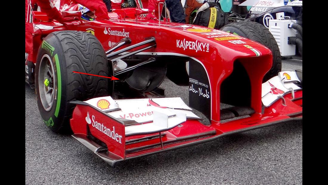 Technik Ferrari Malaysia 2013