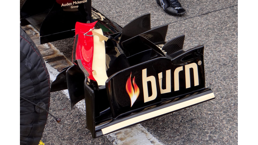 Technik Lotus Bahrain 2013