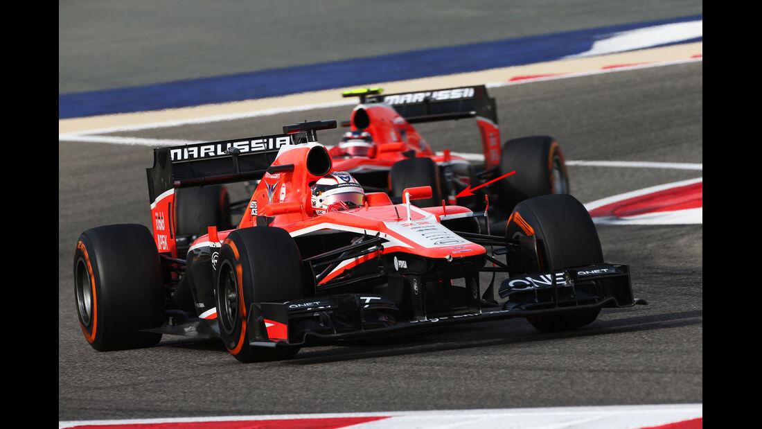 Technik Marussia Bahrain 2013