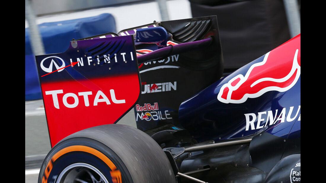 Technik Red Bull China 2013