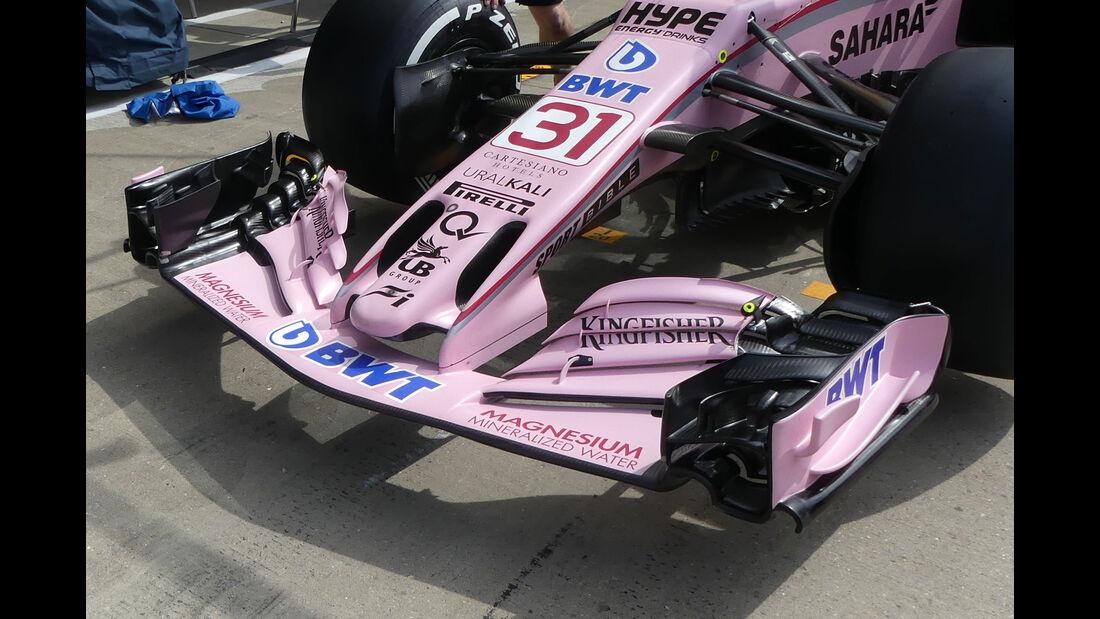 Technik-Updates - GP England 2017 - Force India