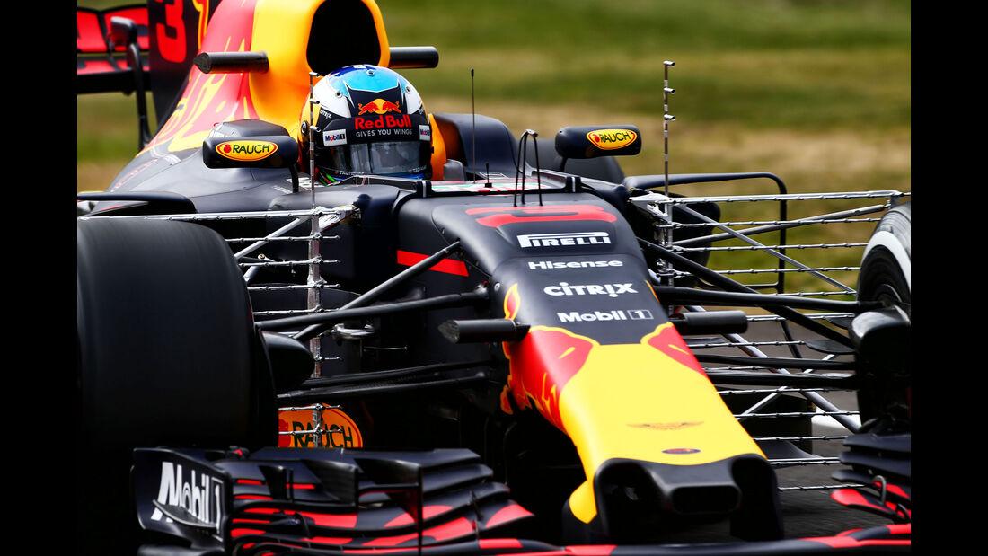 Technik-Updates - GP England 2017 - Red Bull