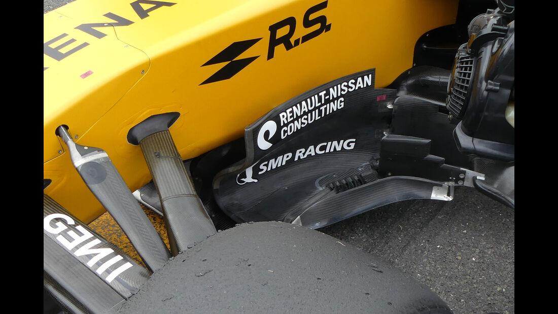 Technik-Updates - GP England 2017 - Renault