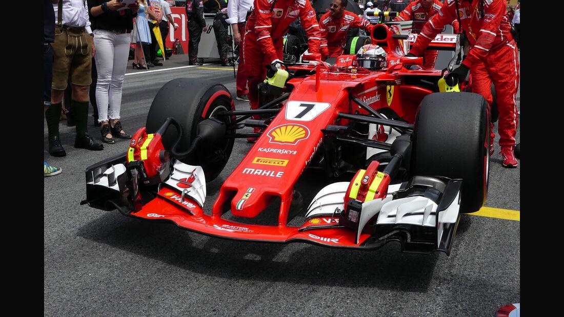Technik-Updates - GP Österreich 2017 - Ferrari