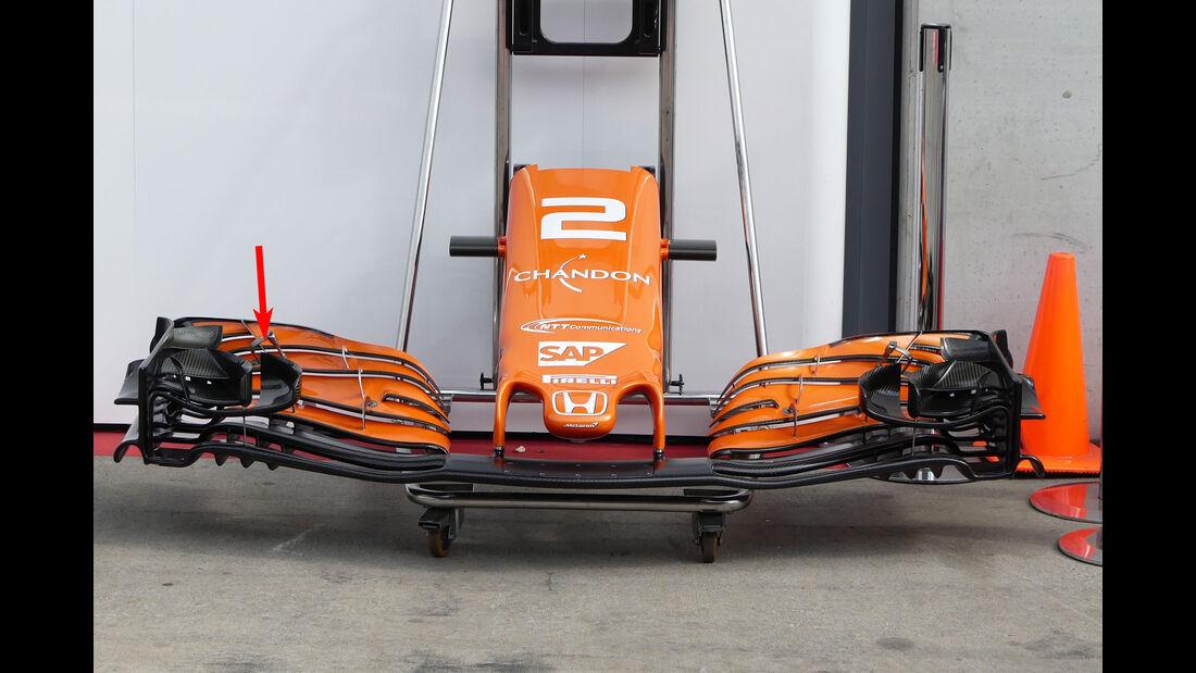 Technik-Updates - GP Österreich 2017 - McLaren