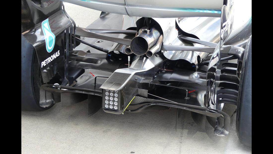 Technik-Updates - GP Österreich 2017 - Mercedes