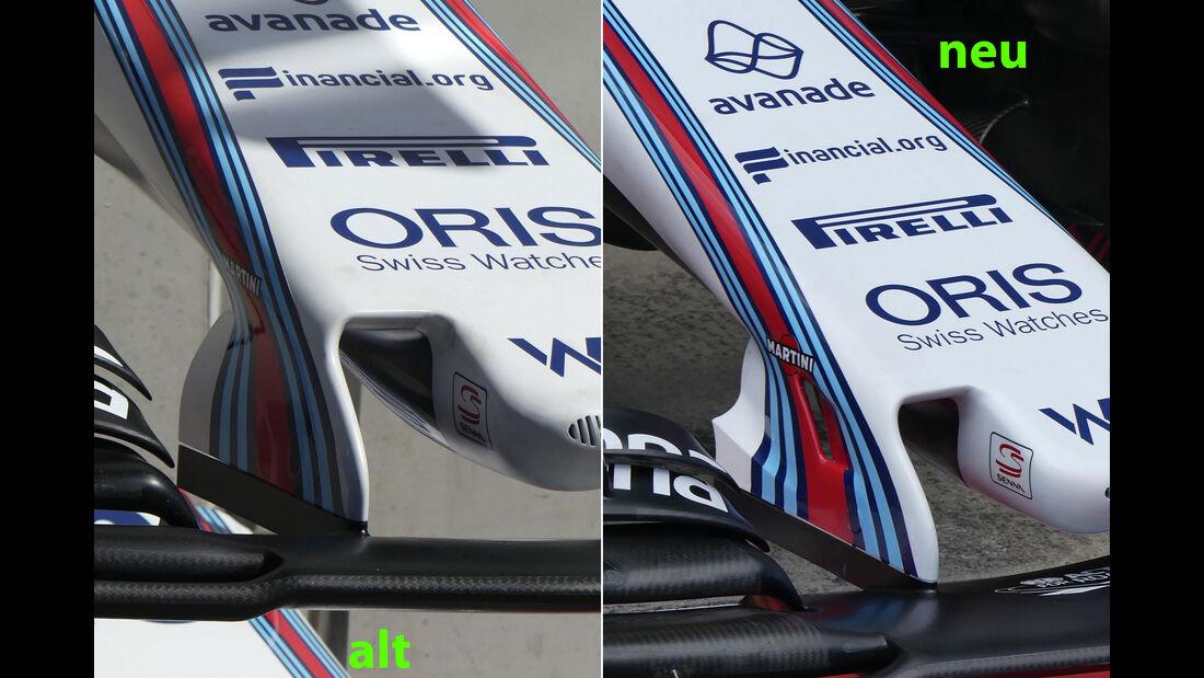 Technik-Updates - GP Österreich 2017 - Williams