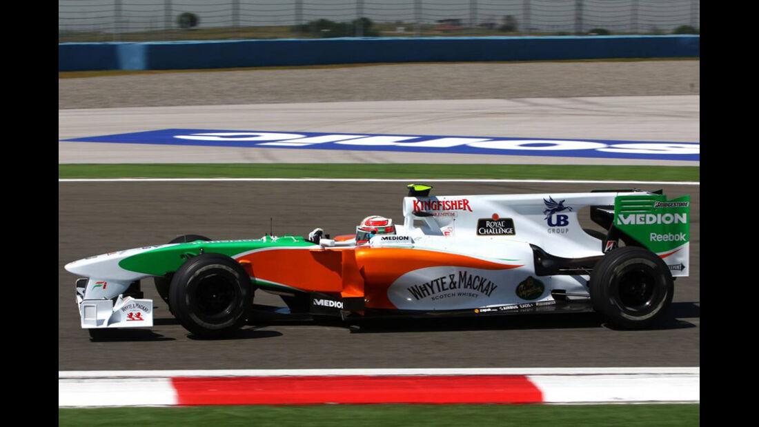 Technikanalyse GP Türkei 2010