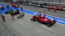 Technische Abnahme - Formel 1 - GP Malaysia - 21. März 2013