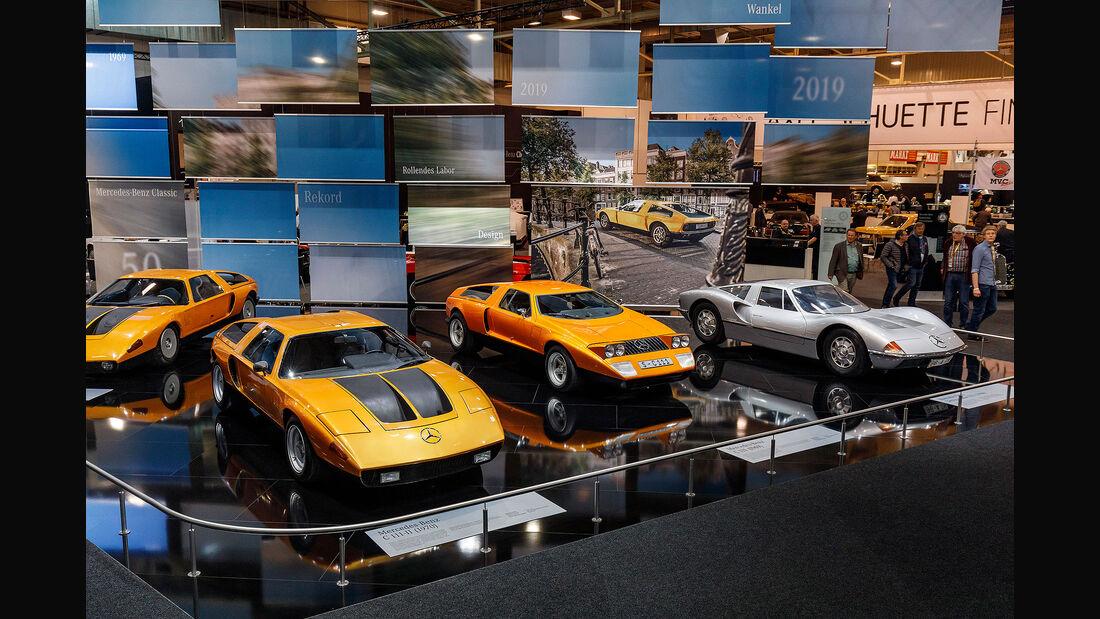 Techno Classica 2019 50 Jahre Mercedes C 111