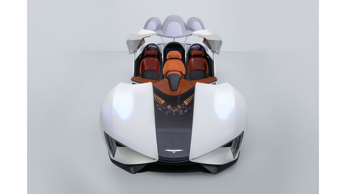 Techrules Supercar Teaser Genf 2017