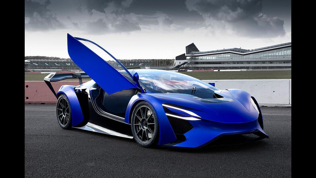 Techrules Supersportwagen-Konzept