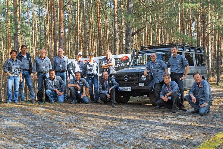Teilnehmer, Gruppenfoto