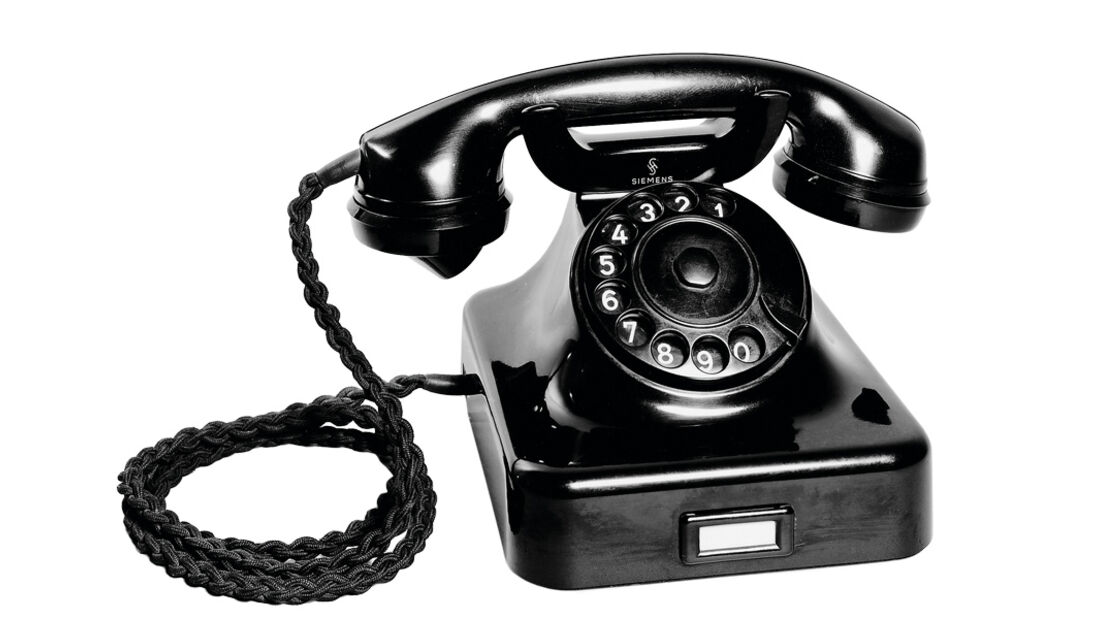 Telefon, 1936, Antik