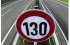 Tempolimit Richtgeschwindigkeit 130 km/h