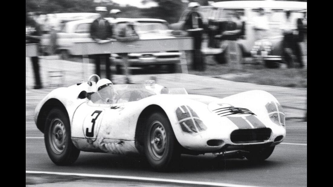 Terry Larson, Lister-Jaguar, Sebring