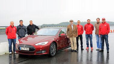 Tesal Model S Nachtest