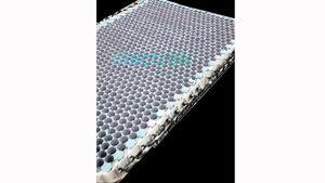 Tesla Batteriezellen-Tragestruktur