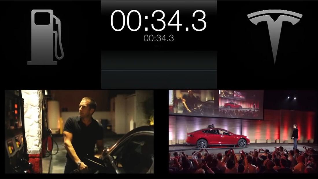 Tesla Battery Swap Event 2013