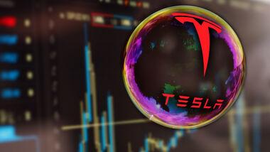 Tesla Börse Blase Übernahme