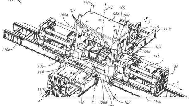 Tesla Druckgussmaschine Patent