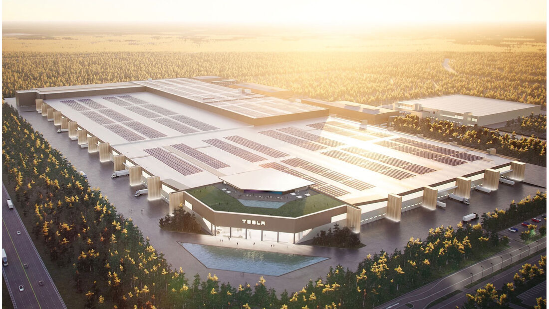 Tesla-Fabrik in Grünheide