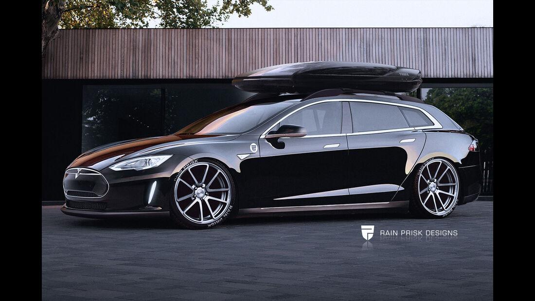 Tesla Kombi - Fantasie-Auto