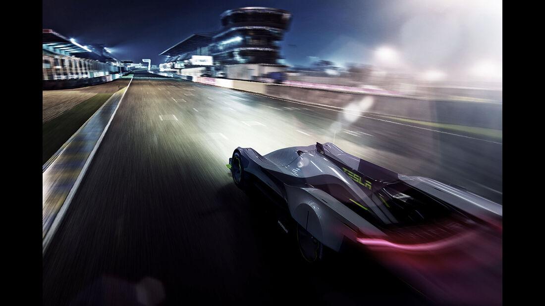 Tesla LMPE - Le Mans 2030 - Michelin Challenge Design - Motorsport