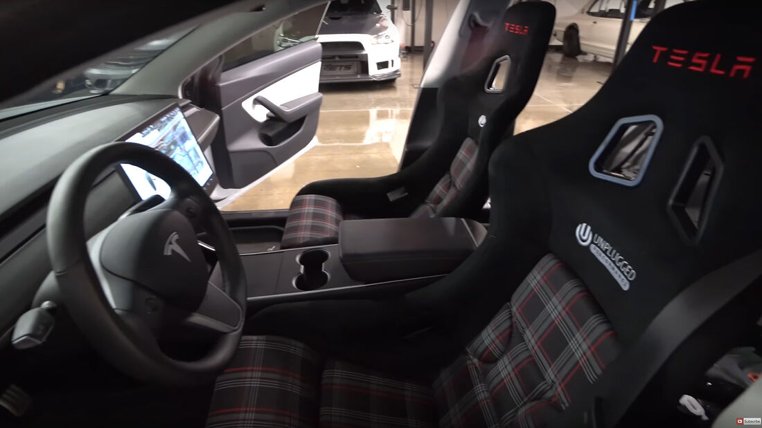 Tesla Model 3, Ascension R, Unplugged Performance, Tuning