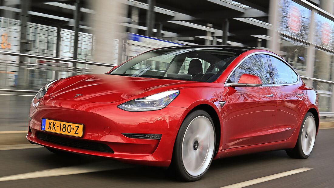 Tesla Model 3, Best Cars 2020, Kategorie D Mittelklasse