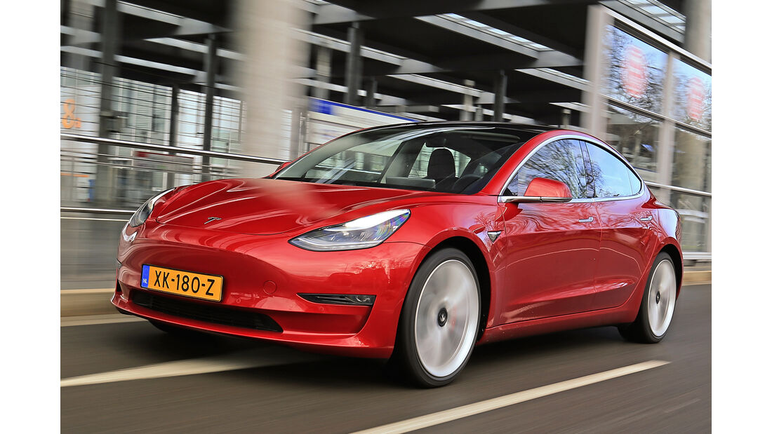 Tesla Model 3, Best Cars 2020, Kategorie D Mittelklasse