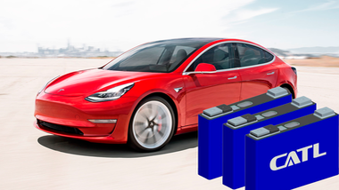 Tesla Model 3 China CATL LiFePO4