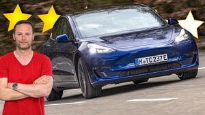 Tesla Model 3 Long Range 2021 Elektroauto Supertest Bloch