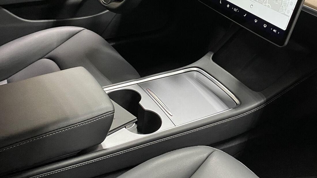 Tesla Model 3 Mittelkonsole nach Facelift