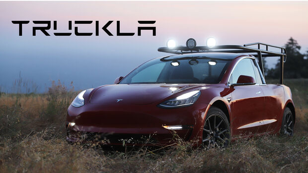 Tesla Model 3 Pick-up-Umbau