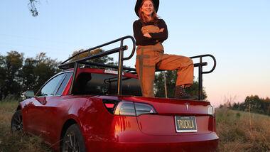 Tesla Model 3 Pick-up-Umbau