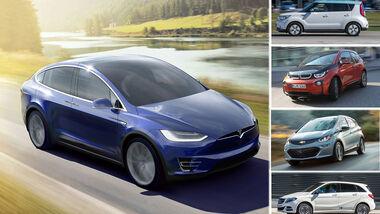 Tesla Model 3 plus Konkurrenten