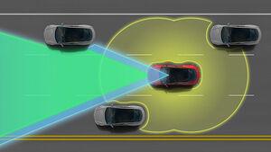 Tesla Model S Assistenzsysteme