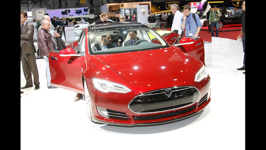 Tesla, Model S, Autosalon Genf 2012