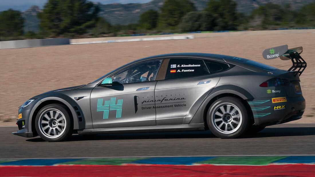 Tesla Model S - Electric Production Car Series