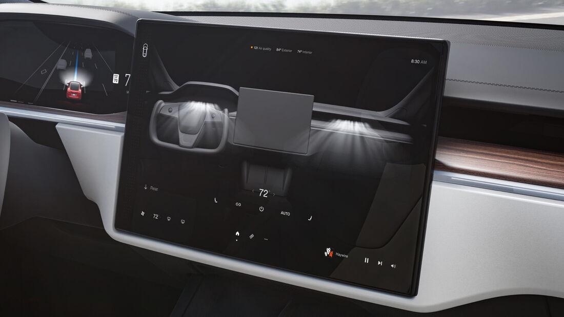 Tesla Model S Facelift 2021
